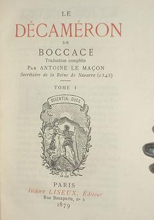 The Decameron: Boccaccio (Antoine Le Macon, translator)