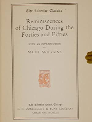 Reminiscences of Chicago During the Forties and Fifties: McIlvaine, Mabel (introduction)