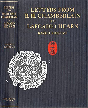 LETTERS FROM BASIL HALL CHAMBERLAIN TO LAFCADIO: HEARN, Lafcadio].