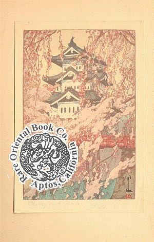JAPANESE WOOD-BLOCK PRINTING.: YOSHIDA, Hiroshi.