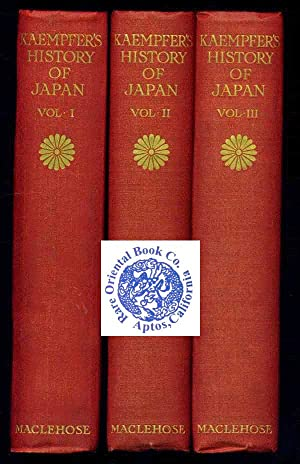 1906. THE HISTORY OF JAPAN TOGETHER WITH: KAEMPFER, Englebert.