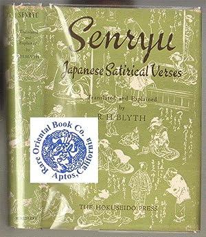 SENRYU: Japanese Satirical Verses.: BLYTH, R.H.