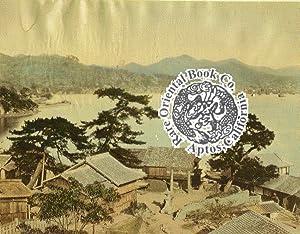 NAGASAKI HARBOUR]: A Hand-Colored Early Albumen Photograph.: KUSAKABE, Kimbei. et