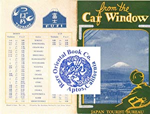 FROM THE CAR WINDOW.: JAPAN TOURIST BUREAU.
