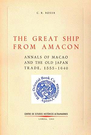 THE GREAT SHIP FROM AMACON: Annals of: BOXER, C.R.