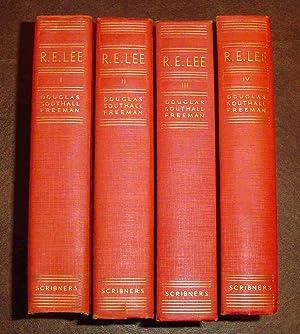 R.E. Lee A Biography: Douglas Southall Freeman