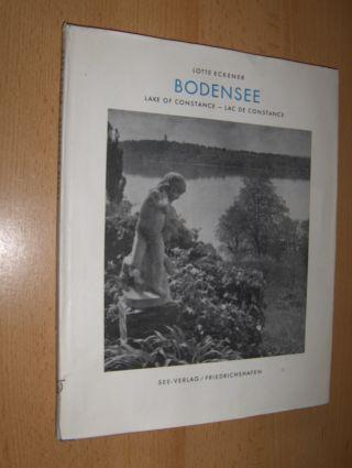 BODENSEE - LAKE OF CONSTANCE - LAC: Eckener *, Lotte: