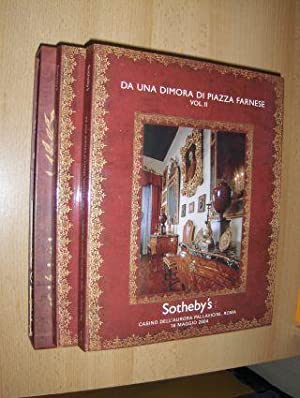 DA UNA DIMORA DI PIAZZA FARNESE (2 Vol.) - Sotheby`s Auction Casino Dell` Aurora Pallavicini 18 M...
