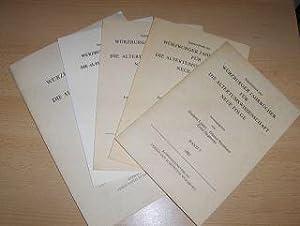 KONVOLUT VON 6 HEFTE, z. Beispiel: Zum: Latacz, Joachim, Günter