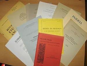 KONVOLUT v. 12 HEFTE (B.-Autoren) 3Sprachig :