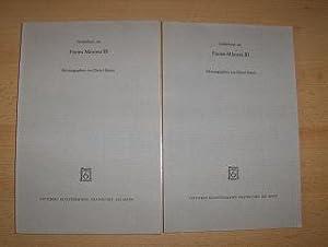 Appendix Eclogae. 2 HEFTE v. Seite 24: Burgmann, L. und