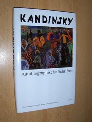 KANDINSKY Autobiographische Schriften - ethnologische und juristische.: Roethel (Hrsg.), Hans