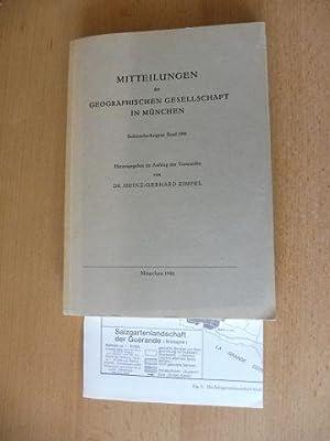 MITTEILUNGEN der GEOGRAPHISCHEN GESELLSCHAFT IN MÜNCHEN -: Zimpel (Hrsg.), Dr.