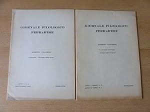 """2 TITELN v. A. COSSARINI : """"COLUMELLA: Cossarini, Alberto:"""