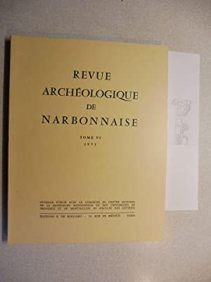 REVUE ARCHEOLOGIQUE DE NARBONNAISE - TOME VI: Llinas, Christian und