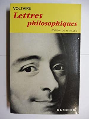 Lettres philosophiques ou Lettres anglaises avec le: Voltaire *, Francois-Maria