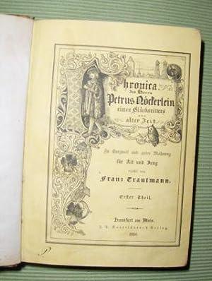 Chronica des Herrn Petrus Nöckerlein, eines Glücksritters: Trautmann, Franz: