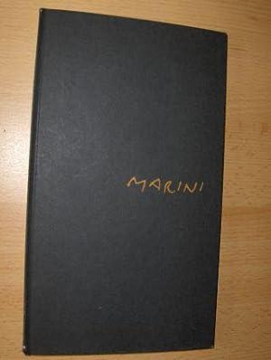 Gedichte mit Zeichnungen von Marino Marini *.: Marini, Egle und