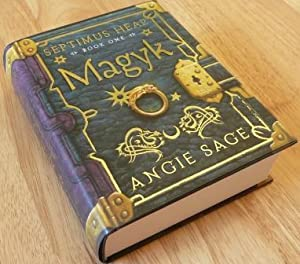 Magyk **SIGNED FIRST EDITION**: Angie Sage.