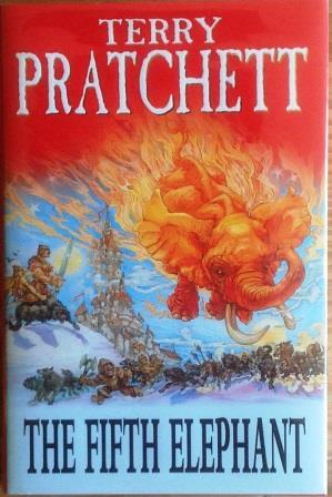 THE FIFTH ELEPHANT - First Edition: Terry Pratchett