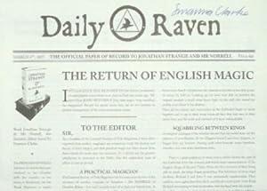Jonathan Strange & Mr Norrell Daily Raven: Susanna Clarke