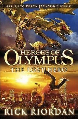 HEROES OF OLYMPUS: THE LOST HERO Signed: Rick Riordan