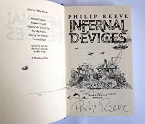 Infernal Devices - Remarqued & Signed First: Philip Reeve
