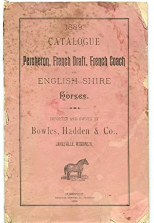 Catalogue of Percheron, French Draft, French Coach [etc.] Horses