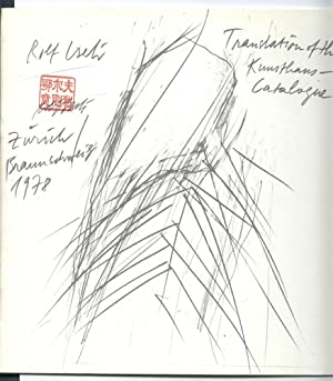 Rolf Iseli: Translation of the Kunsthaus Catalogue [Zurich 1978]