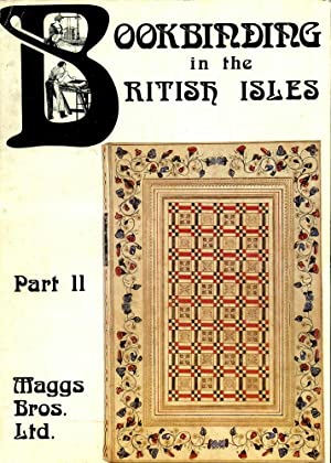 Bookbinding in the British Isles (Catalogue 1075, Part II)