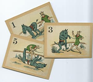 Clever Hans [McLoughlin Brothers card game showing Rarey's methods]