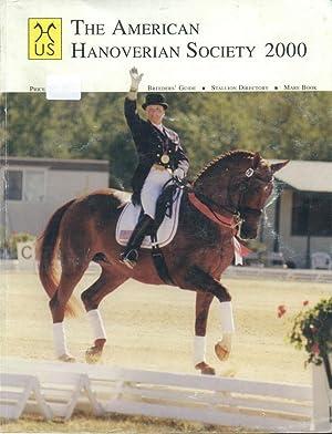 2000 Stallion Book [Hanoverian]: American Hanoverian Society