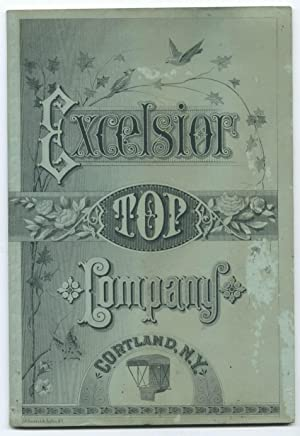 Buggy Upholstery Catalogue]: Excelsior Top Company, Cortland, NY
