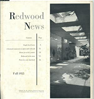 Redwood News [Fall 1955]: California Redwood Association