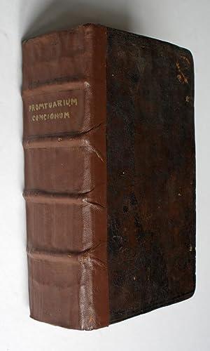 Promptuarium Concionum de Praecipuis Christi et Sanctorum Festis, per Totum Annum. Addita Singulari...