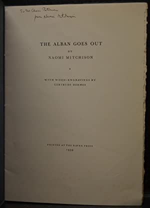 The Alban Goes Out (plus 1946 signed photograph of author)