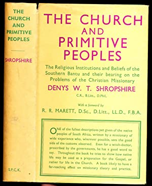 The Church and Primitive Peoples