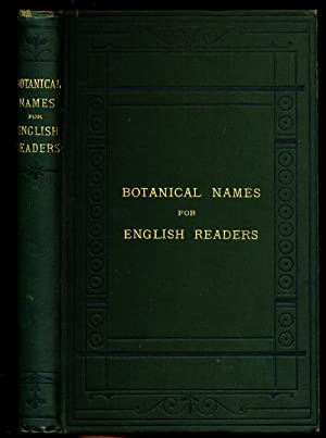 Botanical Names for English Readers