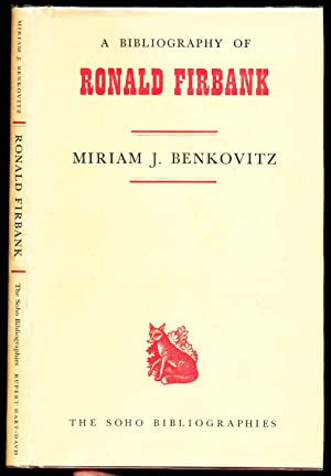 A Bibliography of Ronald Firbank