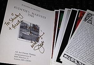 Judith Harvest, Judith Harvest's 1988 (Signed): Emanuele Horodniceanu. Judith Harvest
