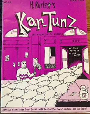 Harvey Kurtzman's Kar-tunz: The magazine for shitheads. NO. 18: Harvey Kurtzman. Scott Russo