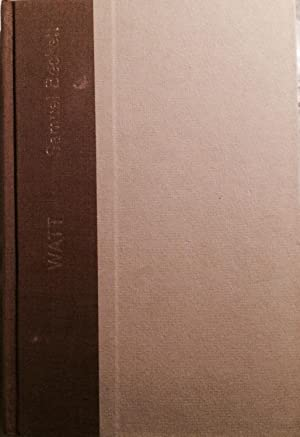 Watt (Limited edition): Samuel Beckett