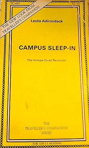 Campus Sleep-In: Leslie Adirondack