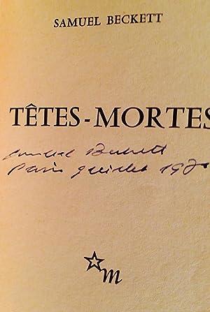 Tetes-Mortes. D'Un Ouvrage Abandonne, Assex, Imagination Morte Imaginez and Bing (Signed): ...