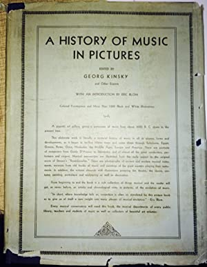 A History of Music in Pictures: Kinsky, Georg (ed);