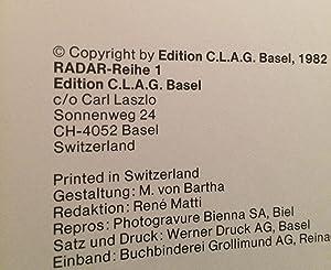 RADAR-Reihe, Vol 1. Die Zweite Gehirnstufe. Hand Und Mensch: Laszlo, Carl. William S. Burroughs