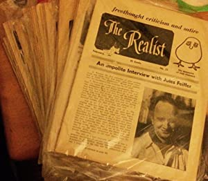 The Realist. 48 ISSUES. 1961-1971: Paul Krassner, Editor.