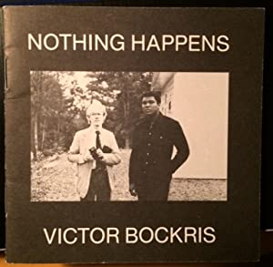 Nothing Happens. 5 photographs of Muhammad Ali and Andy Warhol together.: Victor Bockris