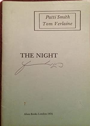 The Night: Patti Smith and Tom Verlaine (Signed)