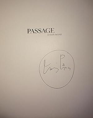 Passage: A Work Record (Signed): Irving Penn; Alexandra Arrowsmith; Nicola Majocchi